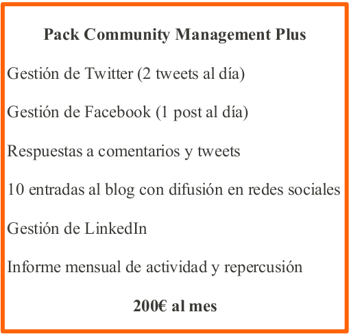 pack community management plus